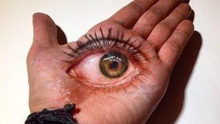 getlinkyoutube.com-3D Eye Drawing in Hand!
