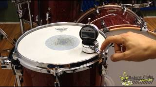 getlinkyoutube.com-Drum Dial Digital Tuner. Afinador de Bateria.