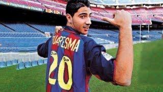 getlinkyoutube.com-Ricardo Quaresma's Barcelona Days ● Goals & Skills | 2003/4 HD