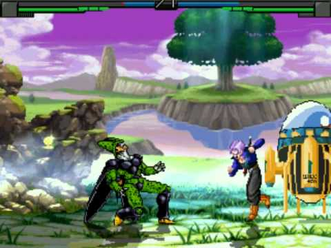 Dbz Into The Limit Mugen-Me as Cell(Arcade Mode)