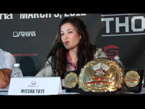 Strikeforce: Tate vs. Rousey Press Conference Highlights
