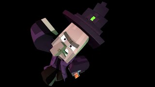 getlinkyoutube.com-Witch Encounter (Minecraft animation) -Slamacow parody stopmotion- (Lego)