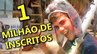getlinkyoutube.com-1 MILHÃO DE INSCRITOS!!! - MrPoladoful - ESPECIAL
