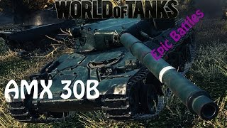 getlinkyoutube.com-WOT EPIC BATTLE -AMX 30B 11kdmg 1vs5