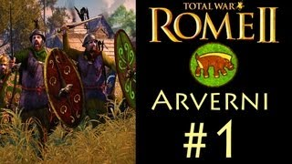 "getlinkyoutube.com-Total War: Rome 2 - Arverni Campaign (Legendary) - Part 1: ""A Storm is Coming"""