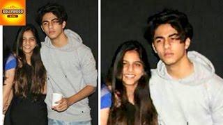 getlinkyoutube.com-Shahrukh Khan's Kids Aryan And Suhana CAUGHT On Camera | Bollywood Asia