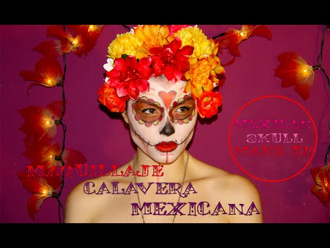 La catrina. Maquillaje de calavera mexicana / Mexican skull Make up