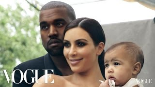 Le Photoshout de Kim Kardashian & Kanye West pour la couverture de Vogue !