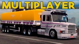 getlinkyoutube.com-Novo Mapa Para o Grand Truck Simulator - Mapa RBA - Multiplayer + Acidente