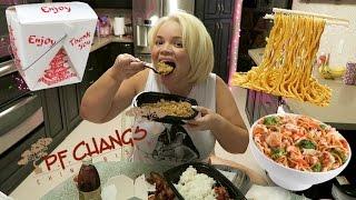 getlinkyoutube.com-PF Changs MUKBANG (Eating Show) | WATCH ME EAT