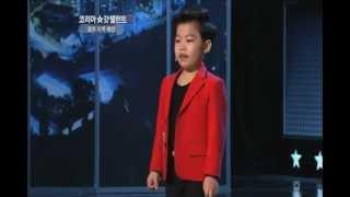 "getlinkyoutube.com-I'm good at anything! ""Min-woo Hwang"" - Korea`s Got Talent 2, 황민우 - 코리아갓탤런트2"