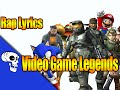 Video Game Legends Rap Vol. 1 LYRIC VIDEO by JT Machinima