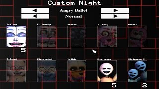 getlinkyoutube.com-Five Nights at Freddy's: Sister Location Custom Night (Part 1)