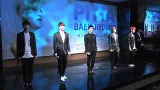 110519 BEAST - On Rainy Days + Fiction (Baek Ji Young.Showcase)
