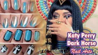 getlinkyoutube.com-Tutorial Katy Perry - Dark Horse (Nail Art)