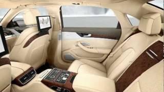 getlinkyoutube.com-New Audi A8 L W12 quattro 2011 Interior Detail TV Ad Audi A8L Commercial CARJAM TV