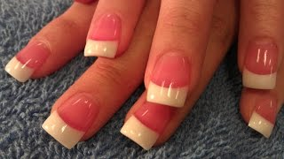 getlinkyoutube.com-HOW TO SIMPLE PINK & WHITE NAILS STEP BY STEP PART 2