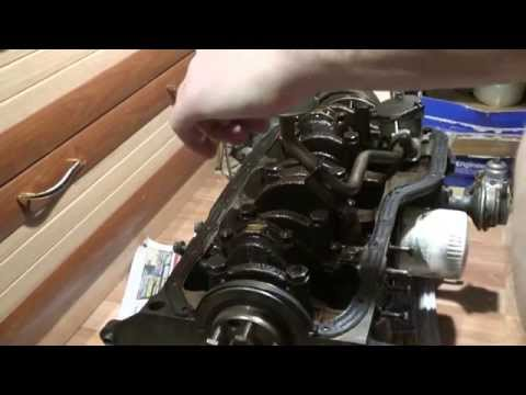 Разборка низа блока двс Ford Sierra OHC 2.0