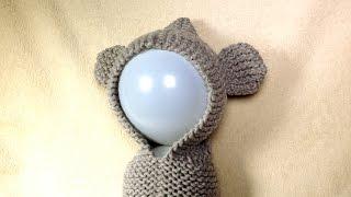 getlinkyoutube.com-How to Loom Knit a Bear Ears Hoodie (DIY Tutorial)