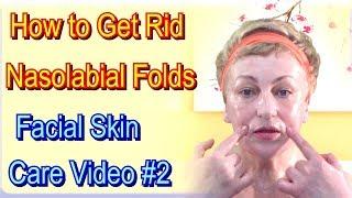 getlinkyoutube.com-Nasolabial Fold Exercise - Elements of Lymphatic Drainage Face Massage, video 2