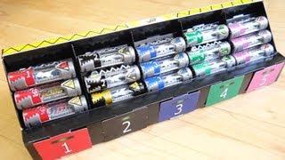getlinkyoutube.com-イオン限定 スピリットベース獣電池ボックス 15本収納可能!組み立てレビュー キョウリュウジャー