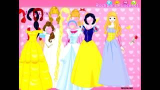 getlinkyoutube.com-Disney Games Disney Princess Dress Up Game