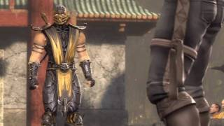 getlinkyoutube.com-Mortal Kombat Story Mode - CHAPTER 3 - Scorpion