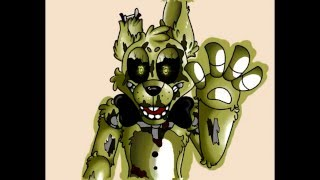 getlinkyoutube.com-FNAF Speedpaint Springtrap (Colors!3D) -w-