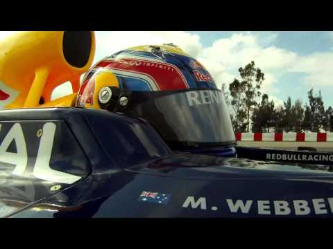 F1 - Red Bull 2011 - Mark Webber on track at Barcelona tests