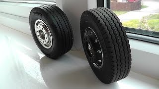 getlinkyoutube.com-tamiya trailer wheel will fit on the front of your tractor unit