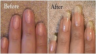 getlinkyoutube.com-Going From Short Nails To Long Natural Nails 3 Month Nail Growth