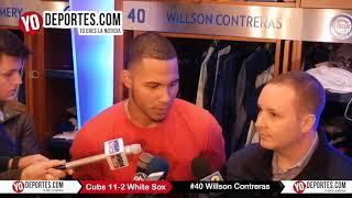 Willson Contreras aplasta a los Medias Blancas en la Serie Interligas