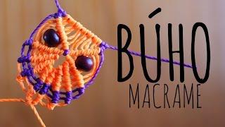 getlinkyoutube.com-Búho de macramé / ♥ Tutorial (English subtitles)