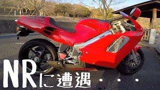 getlinkyoutube.com-霧島の帰りにNR750(RC40)に遭遇・・・ 2015/1/12 gopro/06cbr1000rrツーリング