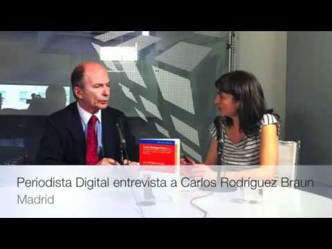 Carlos Rodríguez Braun presenta su último libro, «Economía de los no economistas» en Periodista Digital