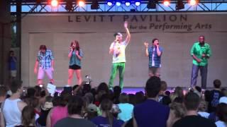getlinkyoutube.com-Pentatonix - Moves Like Jagger (Live @ Levitt Pavilion Arlington, TX)