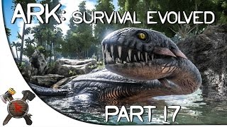 "getlinkyoutube.com-Ark: Survival Evolved Gameplay - Part 17: ""PLESIOSAUR TAMED!"" (Season 2)"