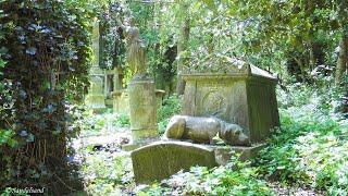getlinkyoutube.com-England - Highgate Cemetery in London