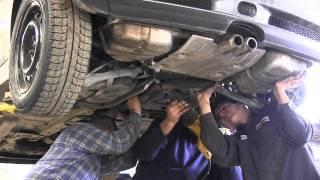 getlinkyoutube.com-Mini Cooper S - One Ball Exhaust Install