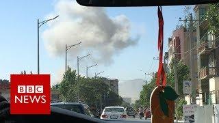 Kabul bomb: Diplomatic zone attack kills dozens - BBC News