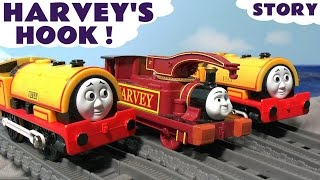 getlinkyoutube.com-Thomas and Friends Toy Trains Harvey Bill & Ben at the Dock - Fun Kids Toys Story by ToyTrains4u