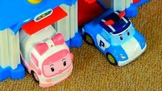 getlinkyoutube.com-Robocar Poli & Rescue Team Toy Collection: Live Demo Review [ 로보 카 폴리 ]