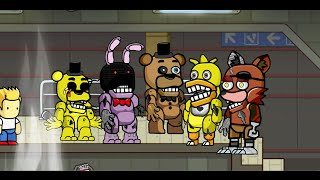 getlinkyoutube.com-Scribblenauts Unlimited 88 Withered Animatronics from Five Nights at Freddy's 2