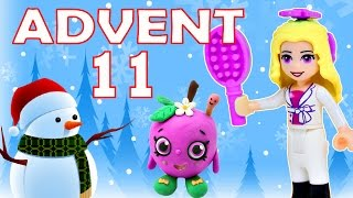 getlinkyoutube.com-Toy Advent Calendar Day 11 - - Shopkins LEGO Friends Play Doh Minions My Little Pony Disney Princess
