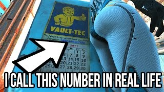 getlinkyoutube.com-FALLOUT 4 EASTER EGG - I CALL THIS NUMBER IN REAL LIFE!!! HAHAHA