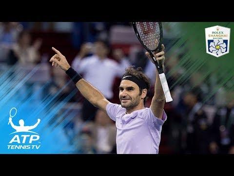 Roger Federer `human highlight reel` vs Rafa Nadal | Shanghai 2017 Final