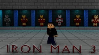 "getlinkyoutube.com-""Trailer - Iron Man 3"" - Animation Minecraft Remake"