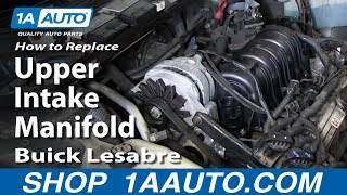 getlinkyoutube.com-How To Replace Install Upper Intake Manifold 1996-05 Buick Lesabre many GM 3.8L 3800