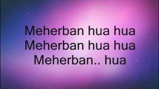 Meherbaan Lyrics from Bang Bang 2014