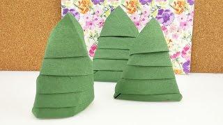 download video servietten falten der tannenbaum. Black Bedroom Furniture Sets. Home Design Ideas